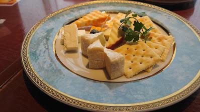 展望レストランチーズ盛り合わせ