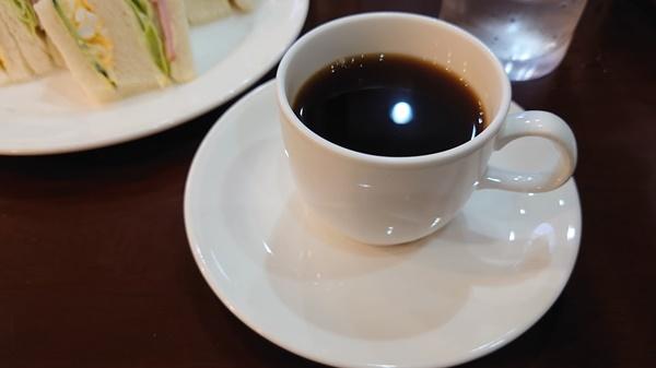 練馬安田珈琲店のブレンドコーヒー